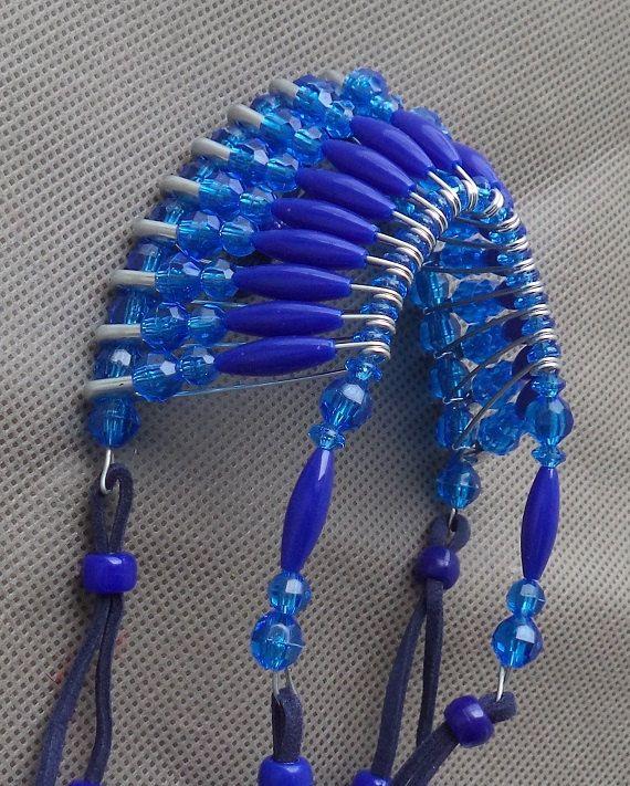 stocking stuffer for women,indian headdress, rear view