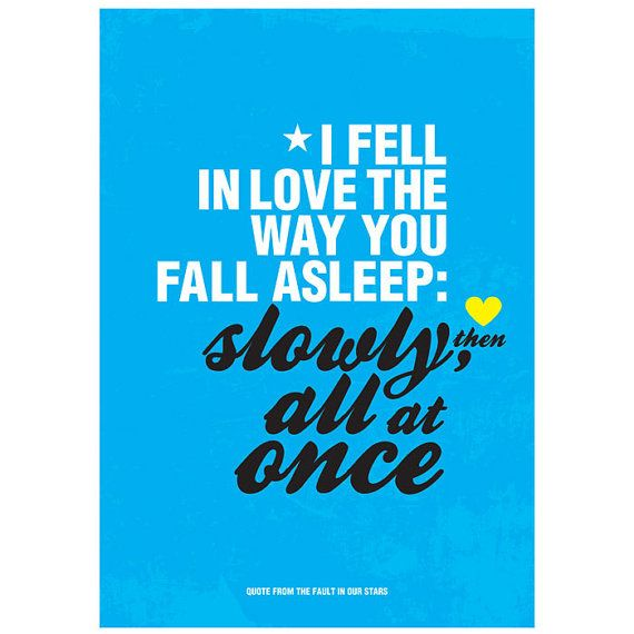 Quotes From The Fault In Our Stars: The Fault In Our Stars Quote Inspired By John By