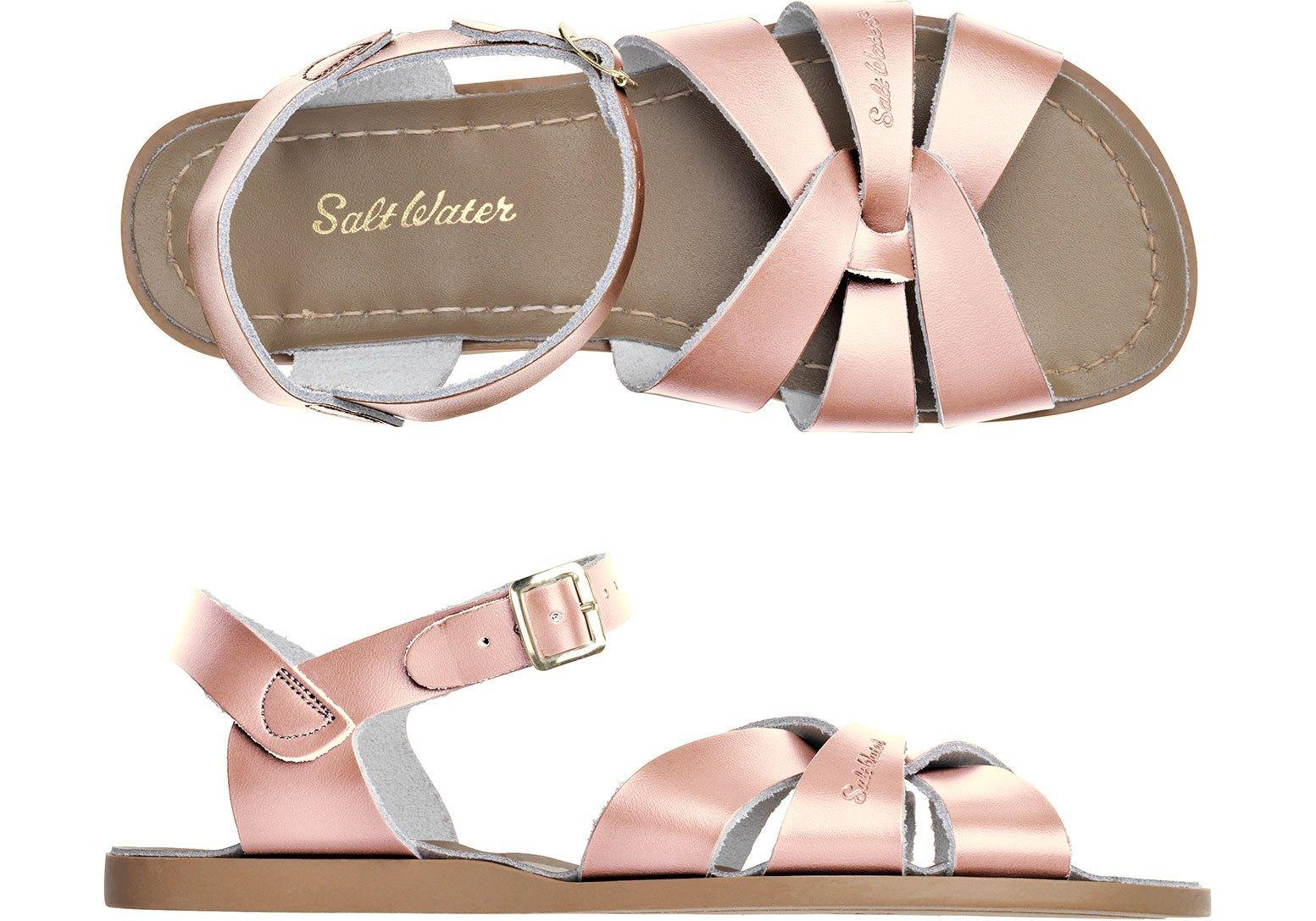 Saltwater women/'s floral sandals size 9