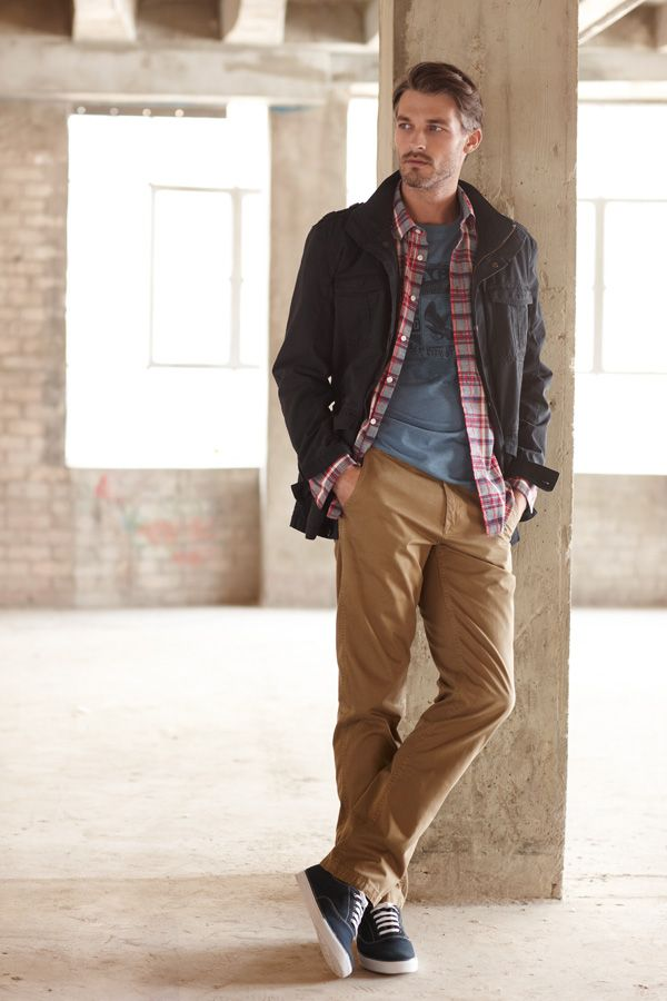 Casual Spring Outfits For Men Addicfashion