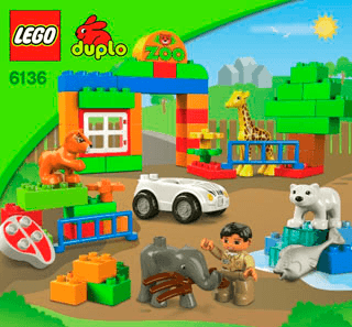 My First Zoo 6136 Lego Duplo Town Building Instructions Lego Com Lego Zoo Lego Duplo Lego Duplo Town