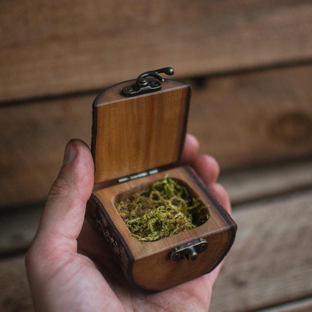 Diy Wooden Ring Box Wooden Ring Box Woodworking Wooden Diy