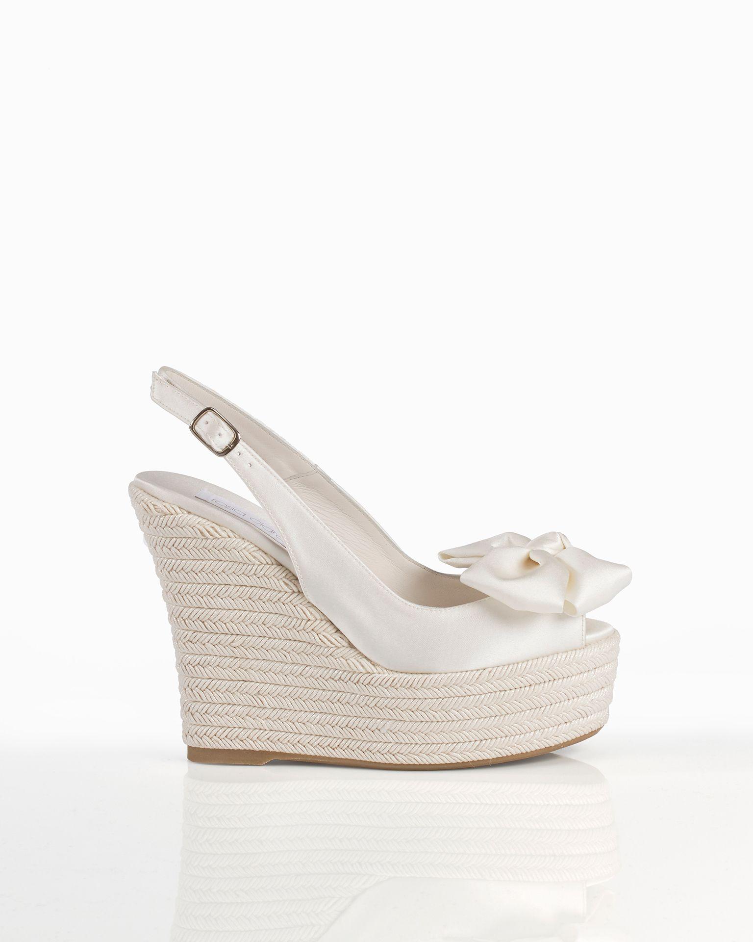 garantía de alta calidad Precio reducido 2019 mejor venta Zapatos colección Rosa Clará 2018 #zapatos #novia #2018 ...