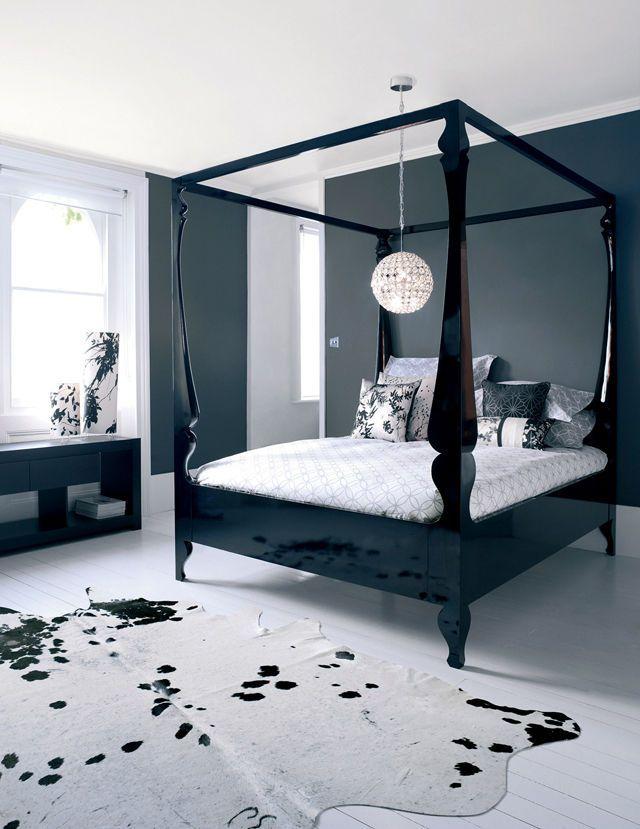 Heals John Reeves Louis Black Bed Superking Size Hahahahah