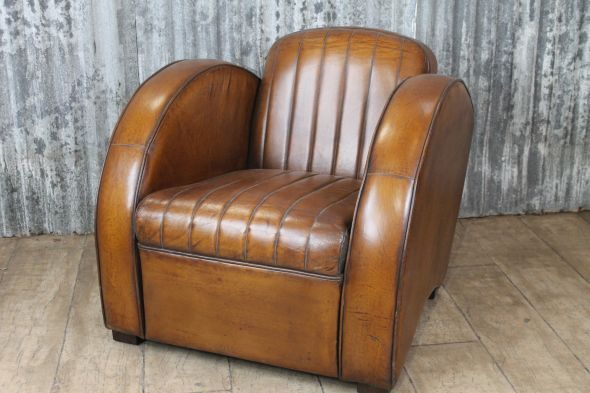 Our New Ritz Leather Armchair Is A Perfect Example Of Retro Design.  Interiors With Both