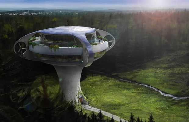 concept home of the future cool conceptual dream it