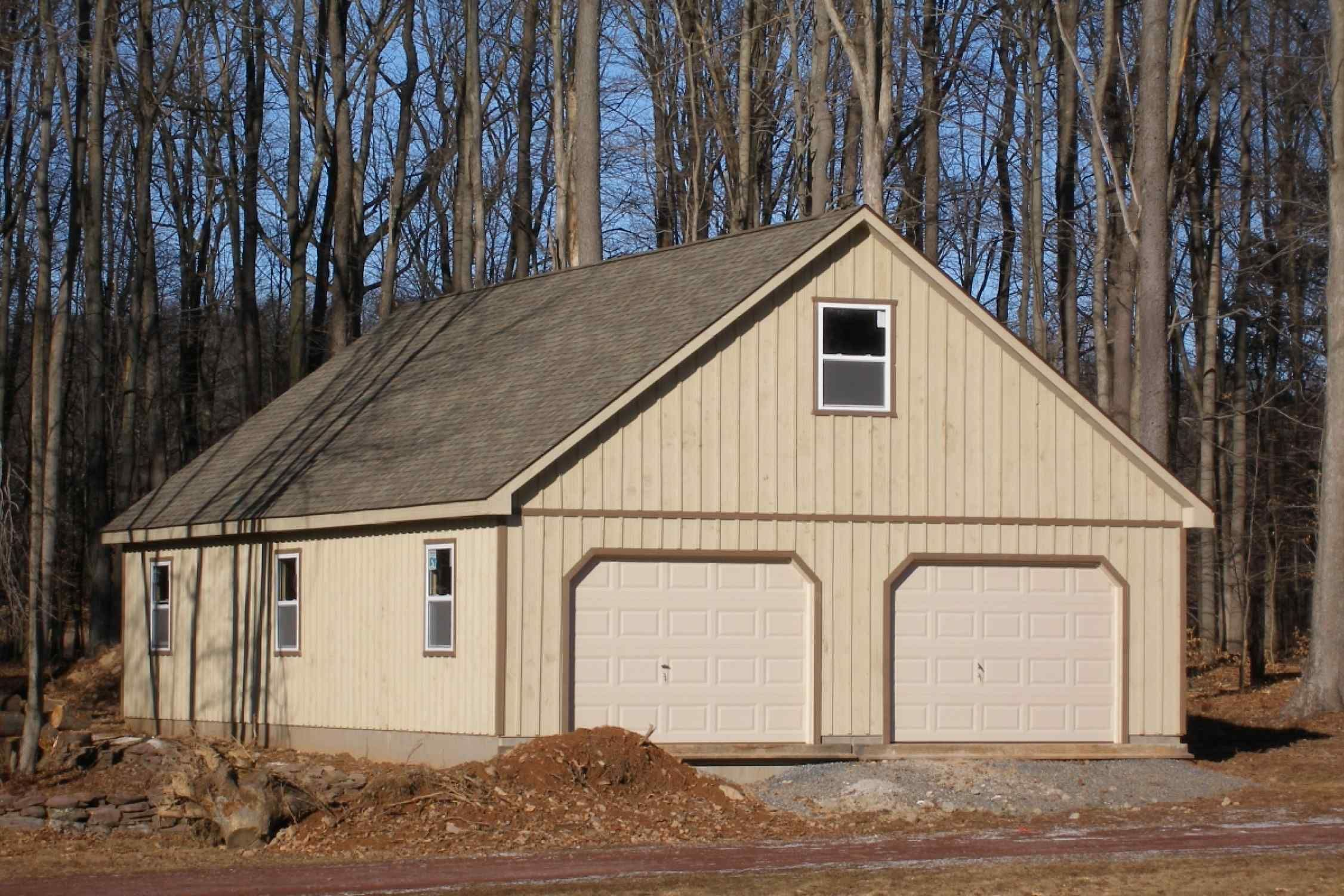 Pioneer Garages Hillside Structures Garage Design Roof Shingles Batten
