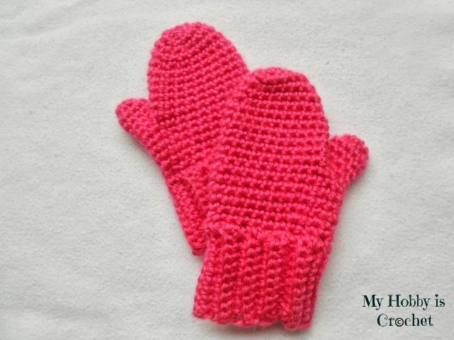 Crochet Mittens For Toddler Free Pattern With Step By Step Tutorial