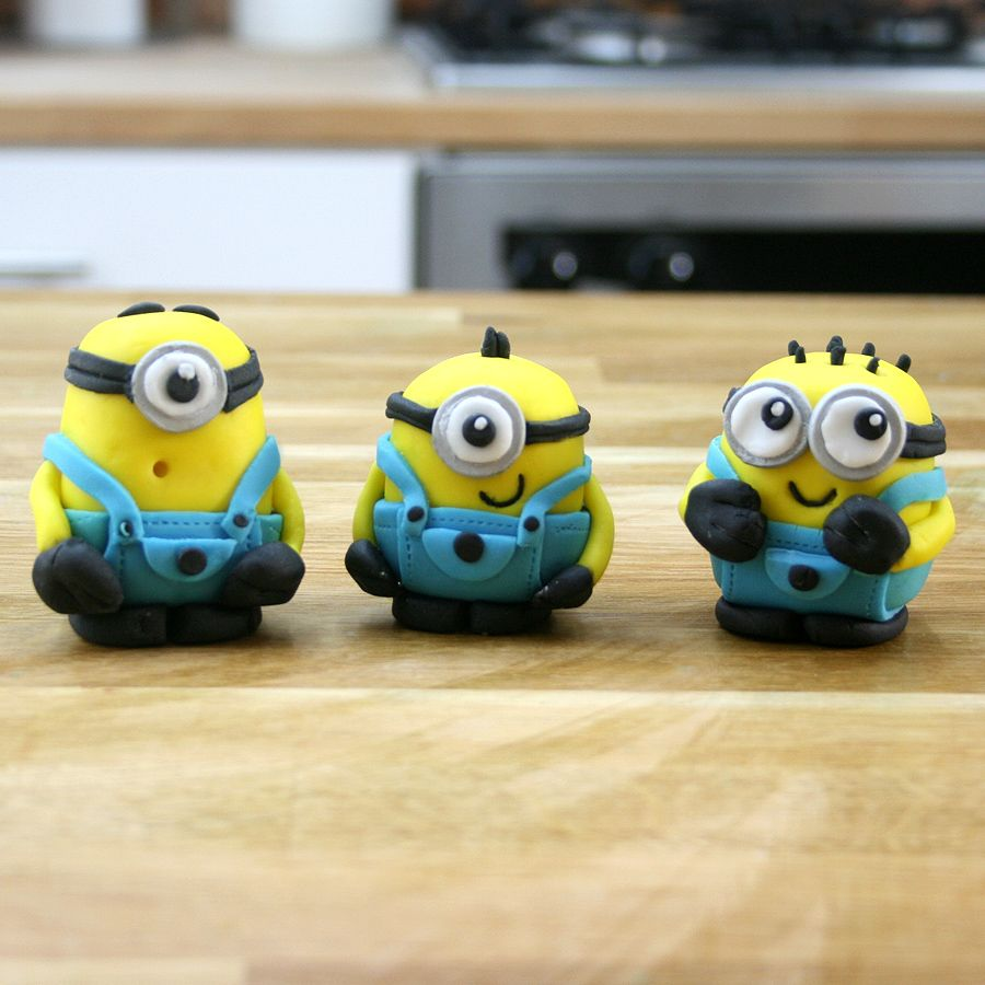 Minion Cake Topper Tutorial Despicable Me Cakes Techniques
