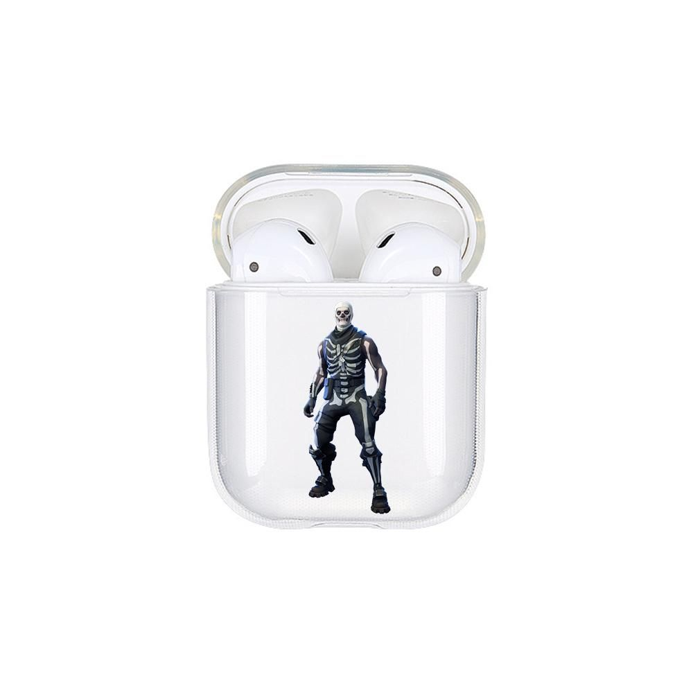 Fortnite Skull Trooper Protective Clear Casecover For Apple Airpods Fortnite Trooper Apple