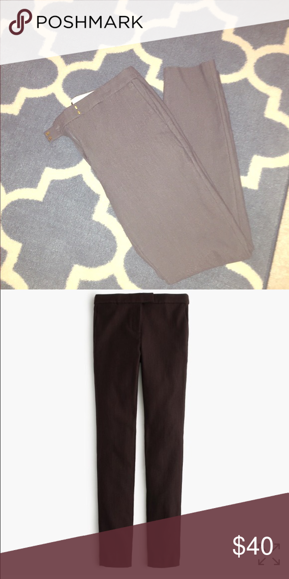 Grey J Crew Ryder Pants size 8 Grey J Crew Ryder Pants worn several times but still in great condition. Have to sell because they no longer fit me. J. Crew Pants Skinny