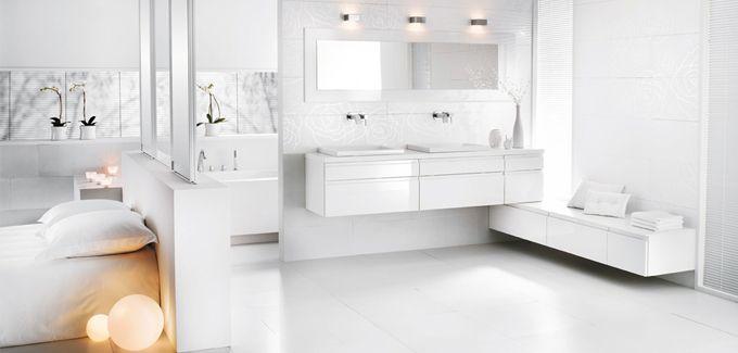 salle de bain ouverte sur chambre - Mobalpa Suite parentale