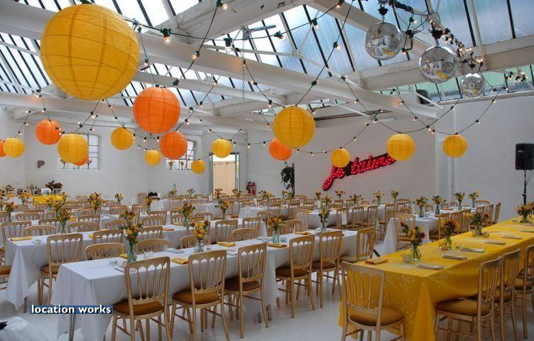 Warehouse Location Studio Complex South West London Wedding Venue