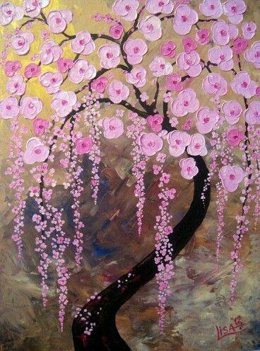 Árboles en flor. ..