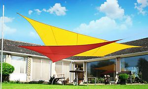 Kookaburra Sail Shade Sun Canopy Patio Awning Garden 98% UV u0026 Waterproof Outdoor & Kookaburra Sail Shade Sun Canopy Patio Awning Garden 98% UV ...