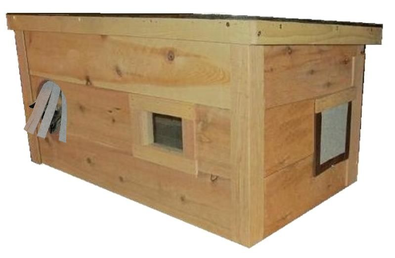 Large Warm Insulated Outdoor Cat House Homes For Feral Strays Ark Workshop Outdoor Cat House Cat House Diy Feral Cat House