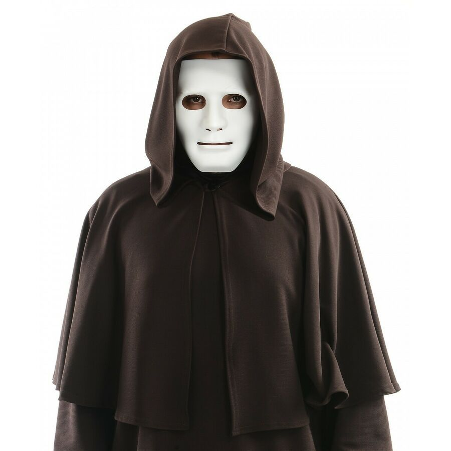 Blank Mask Costume Accessory Adult Halloween