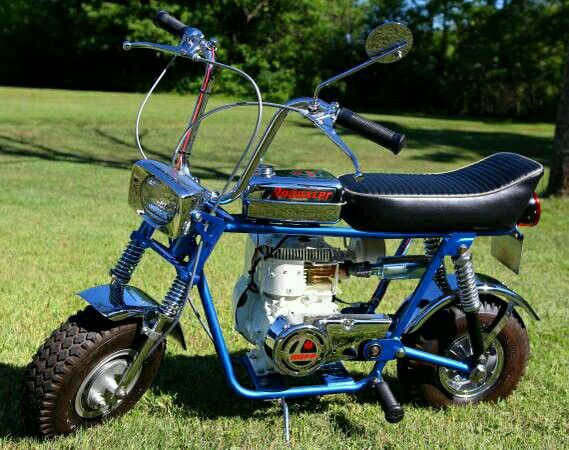 Rupp Minibike My First Motorized Ride 50cc Scooters