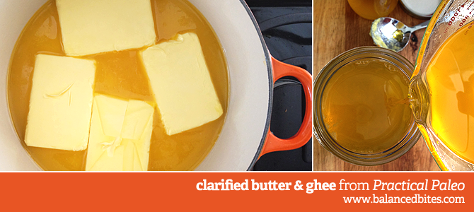 How to Make Clarified Butter (Ghee). Easy and cost effective, too (FYI...they sell Kerrygold grass-fed butter at Costco).