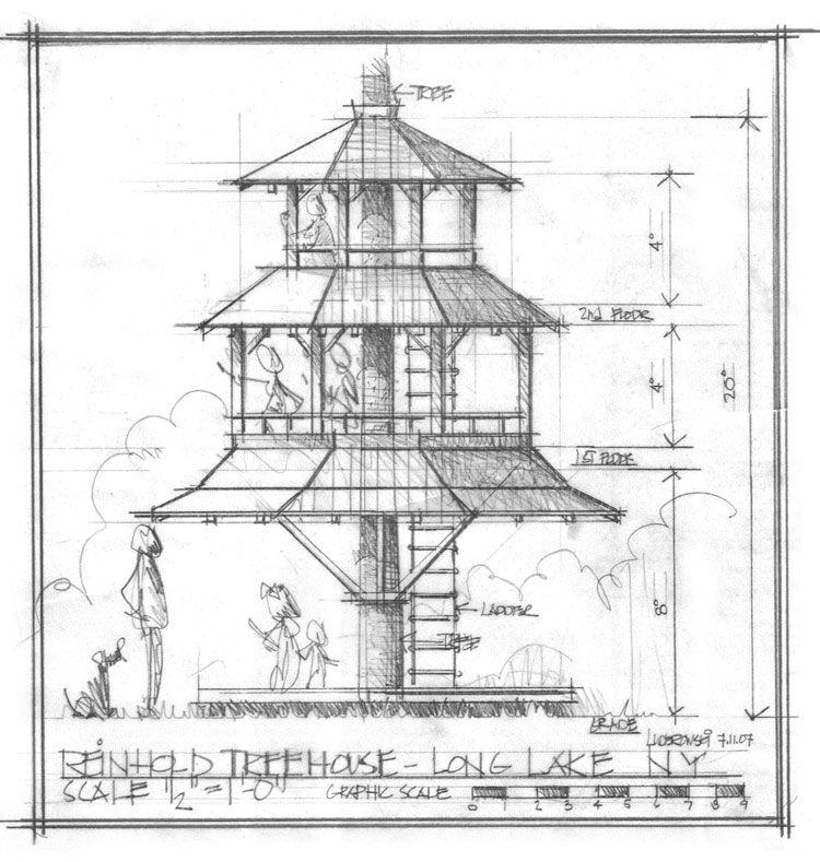Tree House, Long Lake, NY  #Treehouse Pinned by www.modlar.com
