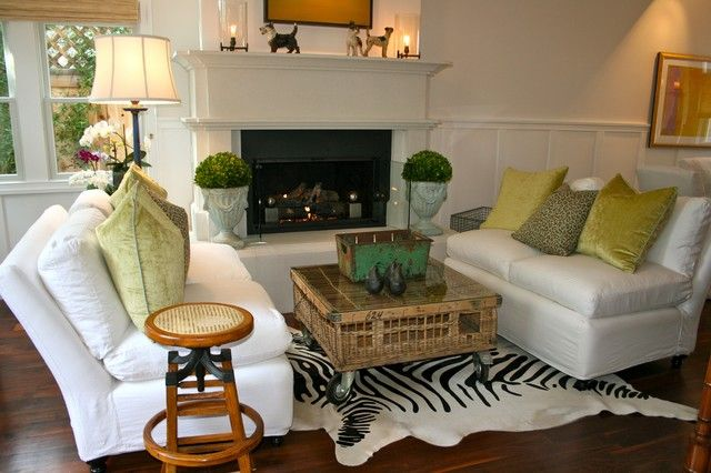 houzz eclectic living room los angeles  eclectic living