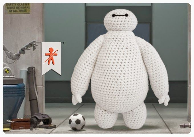 Amigurumis Baymax from Big Hero 6 - FREE Crochet Pattern / Tutorial ...