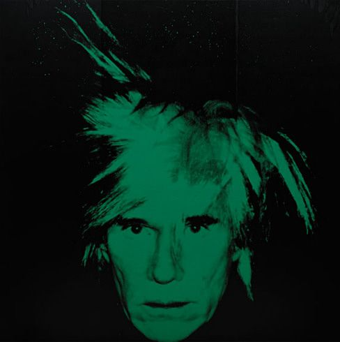 Collection Online | Andy Warhol. Self-Portrait. 1986 - Guggenheim Museum