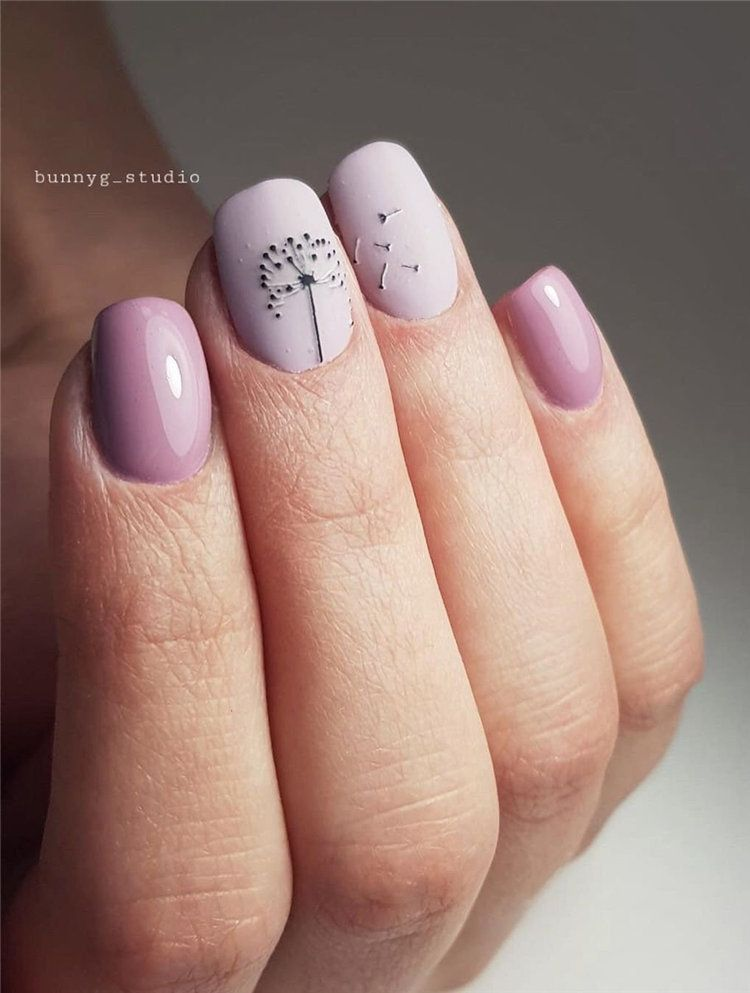 80 Cute Gel Manicure Designs That You Want To Copy Uñas