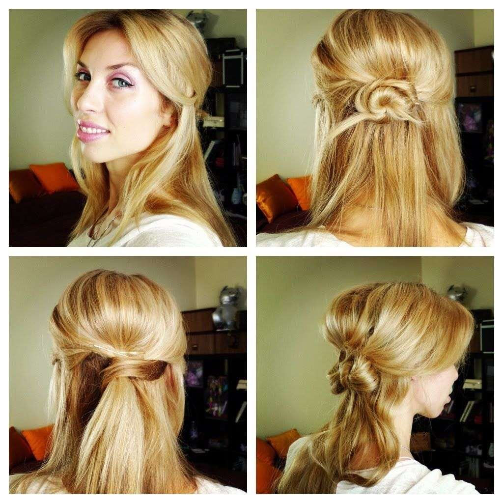 Cute everyday hairstyles for long hair onelady hair