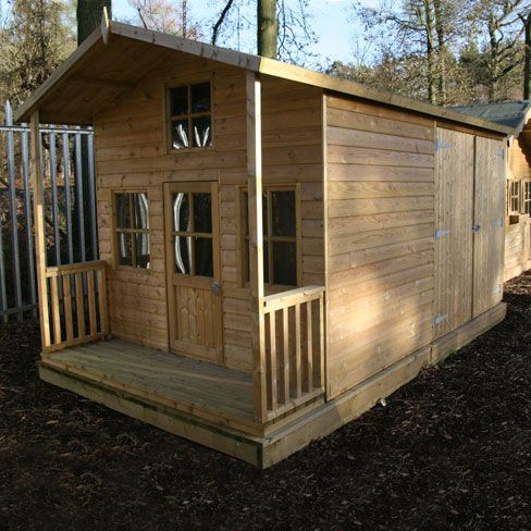 Shed Playhouse Plans Under Deck Storage Sheds Free Story Just Buse | Home  Design Idea | Pinterest | Deck Storage, Free Stories And Playhouse Plans