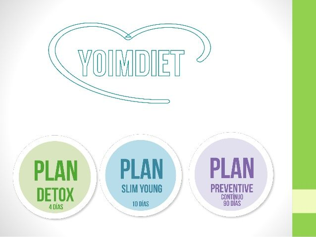 Planes YoimDiet 4.0 Yoim Enlarge Your Life