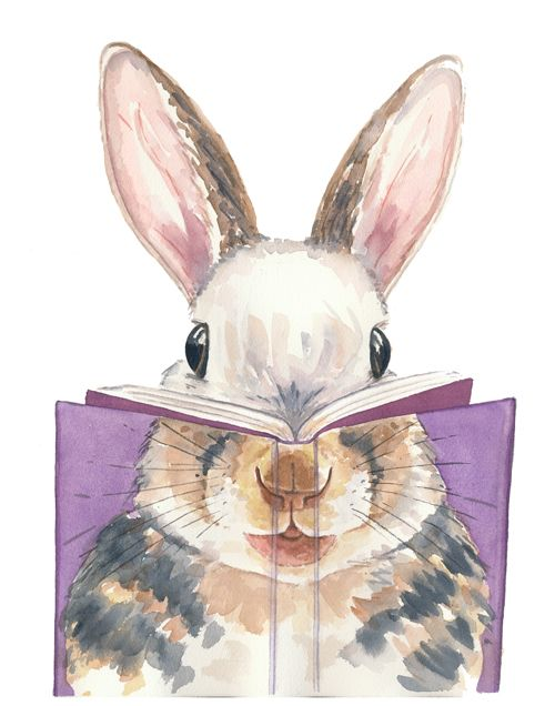 bibliolectors: What reads the rabbit? / Qué lee el conejo ...