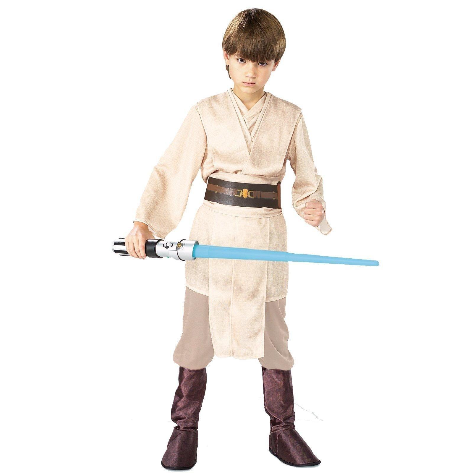Star Wars Jedi Deluxe Child Costume  sc 1 st  Pinterest & Star Wars Jedi Deluxe Child Costume | Star wars jedi Children ...