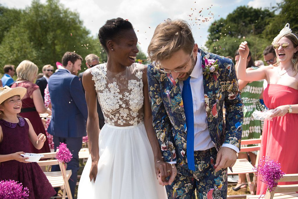 Relaxed Country Wedding Full Of Colour Fun Wedding Ideas
