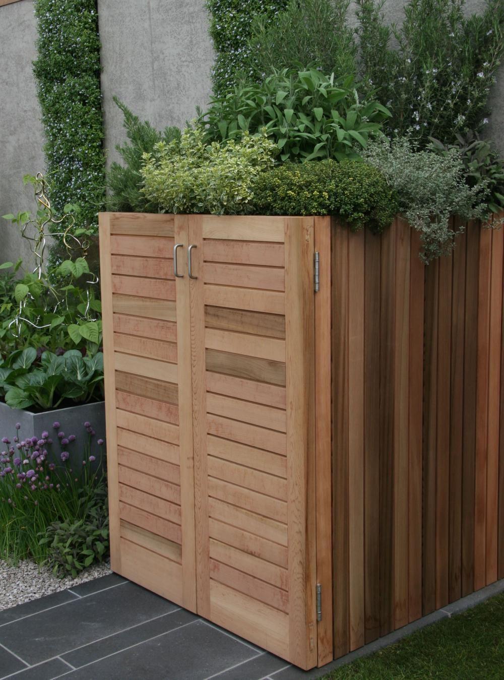 Lösungen Für Mülltonnen 10 lösungen für schwierige gartenecken | living | pinterest | garden
