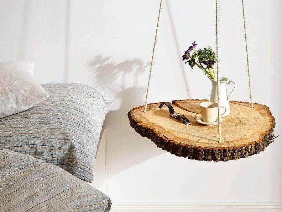 Anmutig Und Naturlich So Baust Du Einen Schwebenden Nachttisch