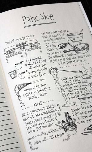 Kill the Recipe Recipes, Journal and Bullet journals - recipe journals