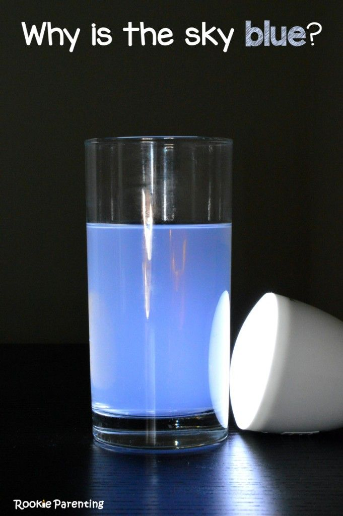 Why Is The Sky Blue Simple Science Video Science For Kids Easy Science Experiments Science Experiments Kids