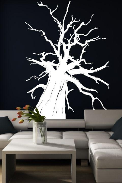 Wall decals giant tree bilbao braches big bonsai walltat com art without