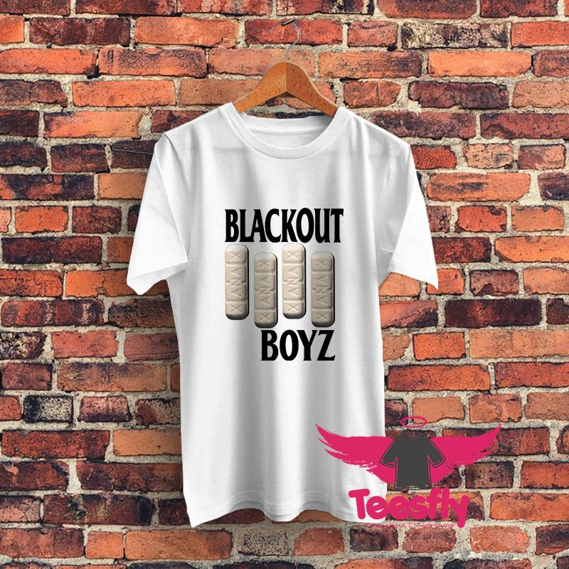 Blackout Boys White Personalized T Shirts Cheap - by Teesfly | 50 ...