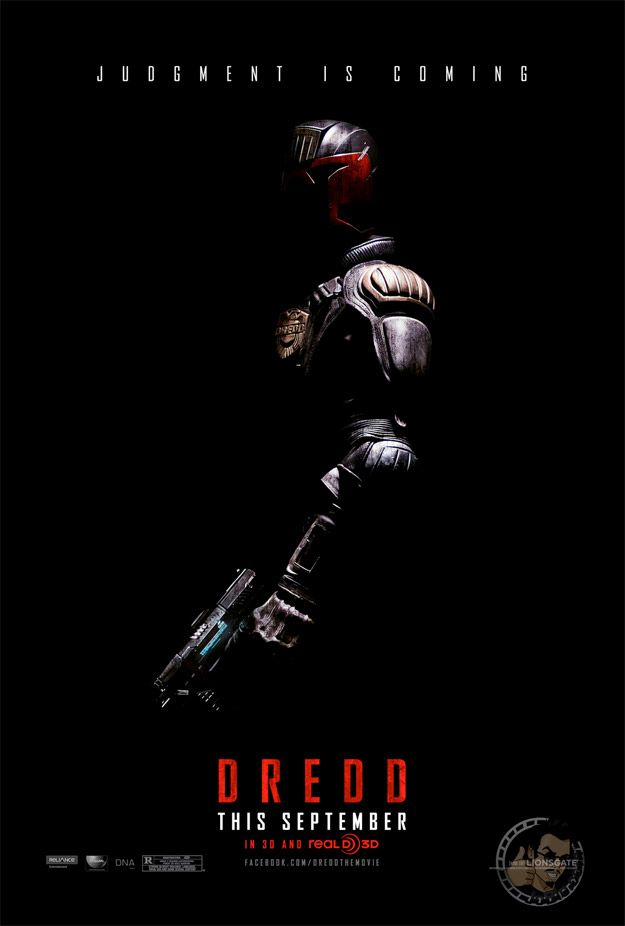 Judge Dredd A3 Poster 4