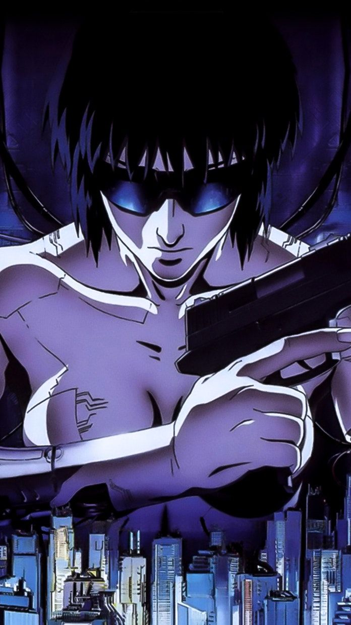 Ghost In The Shell 1995 Phone Wallpaper Moviemania Ghost In The Shell Ghost Cool Wallpapers For Phones
