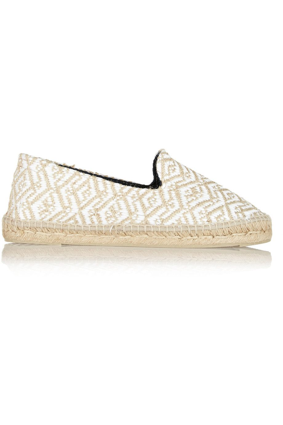 Manebi Raffia Espadrille Loafers buy cheap websites cheap visit new 3fwgxw9z
