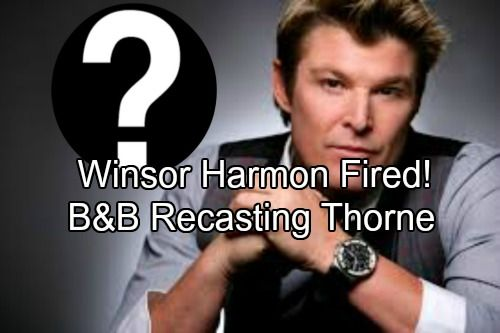 The Bold And The Beautiful Spoilers Winsor Harmon Fired Bb