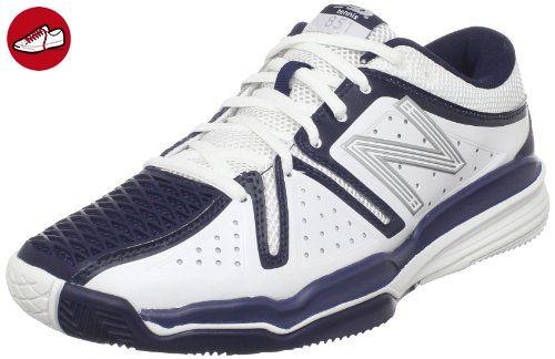 New Balance  Mc851wn,  Herren Outdoor Tennis , Weiß - Weiß/Blau - Größe: 45,5 EU - New balance schuhe (*Partner-Link)