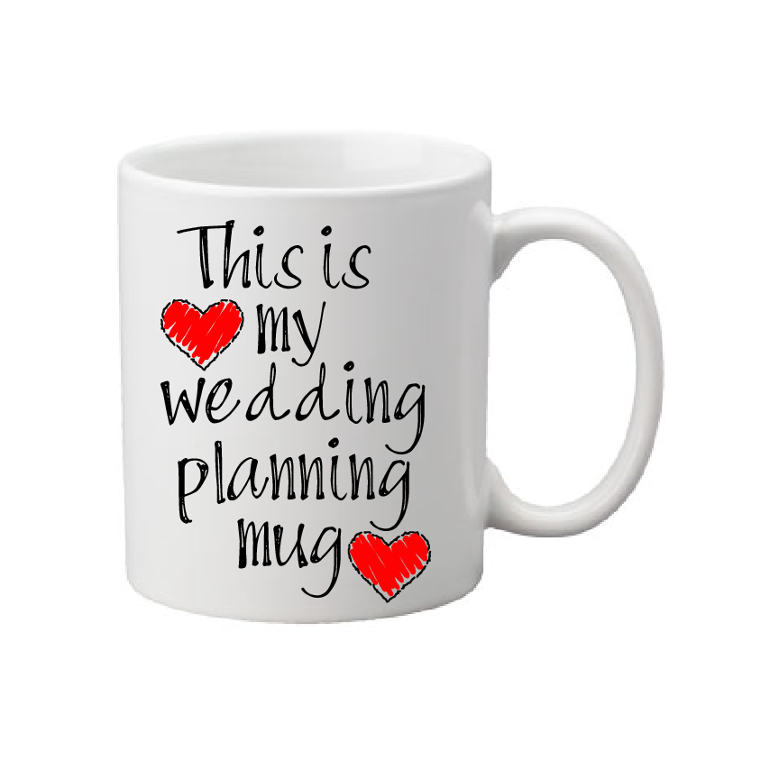Wedding Planning Mug,bridal Gift,wedding Gift,wedding Mug