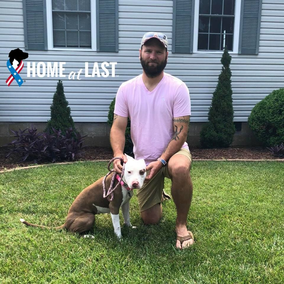 Send In The Marines Lovely Luna And Usmc Veteran Joseph Were Adopted In June Through Our Partnership With Virginia Bea Animal Companions Animal Shelter Pets