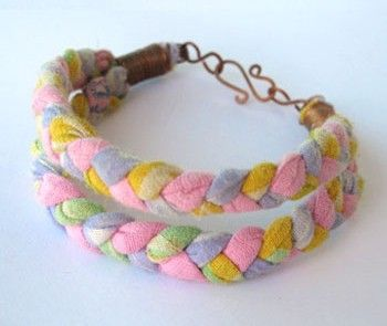 Sari silk bracelet