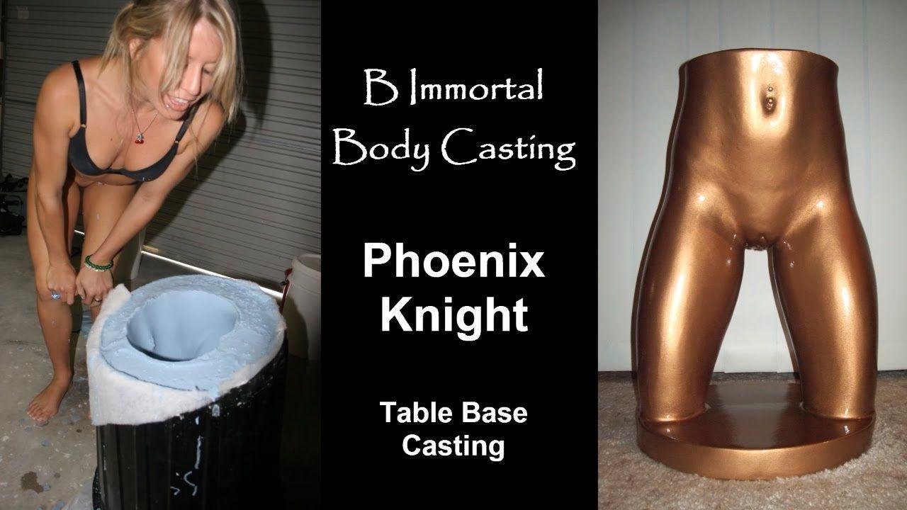 Body Casting Phoenix Knight (Full round lower torso, butt