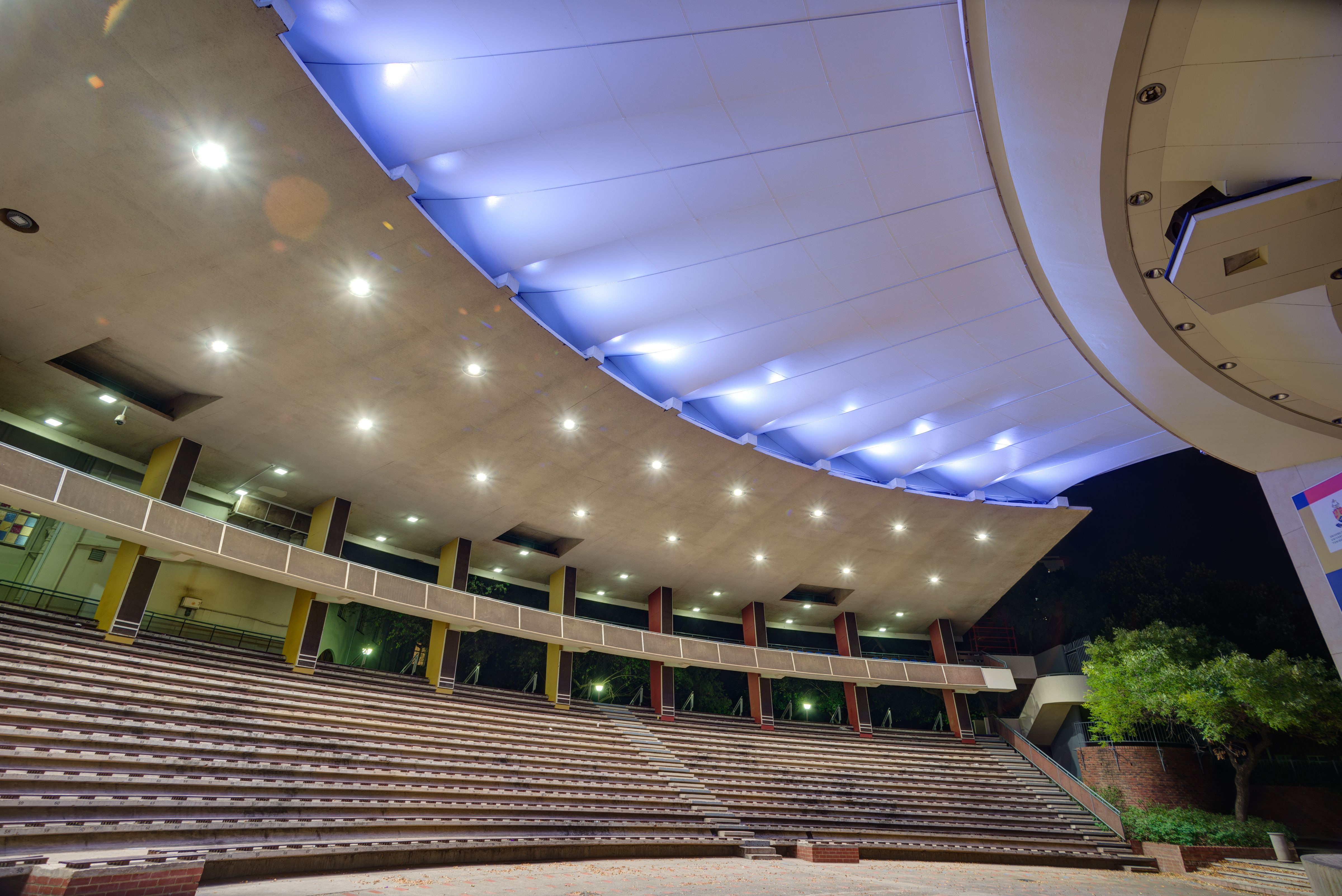 Amphitheatre Design At University Of Pretoria With The